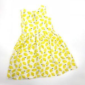 699d457fe9e5 H&M Dresses | Hm Lemon Dress 78y Girls Sundress Sleeveless | Poshmark